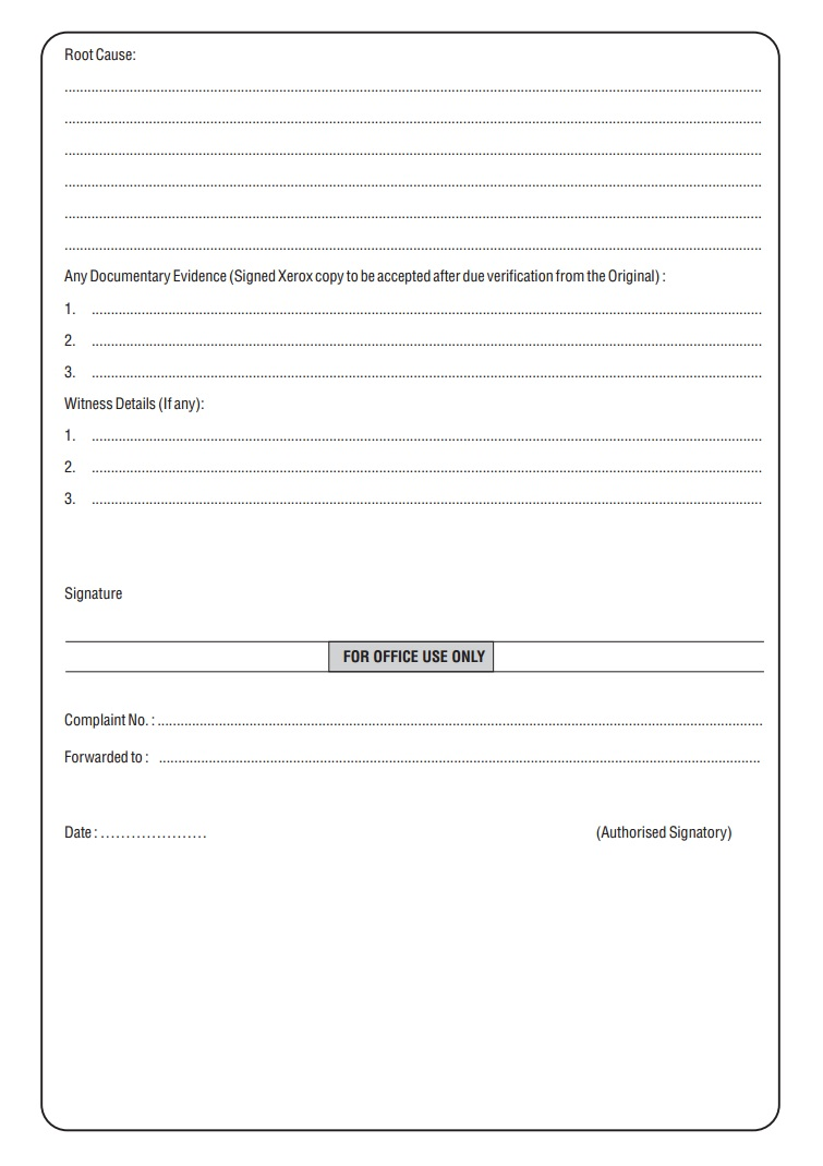 Grievance Application Form | Welcome :: BITT Polytechnic